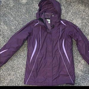 Columbia Sportswear Interchange Jacket Coat Medium